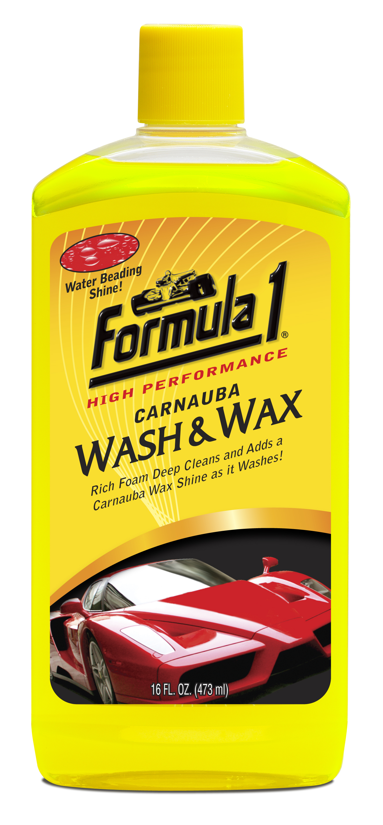 Wash and Wax 16 oz Image