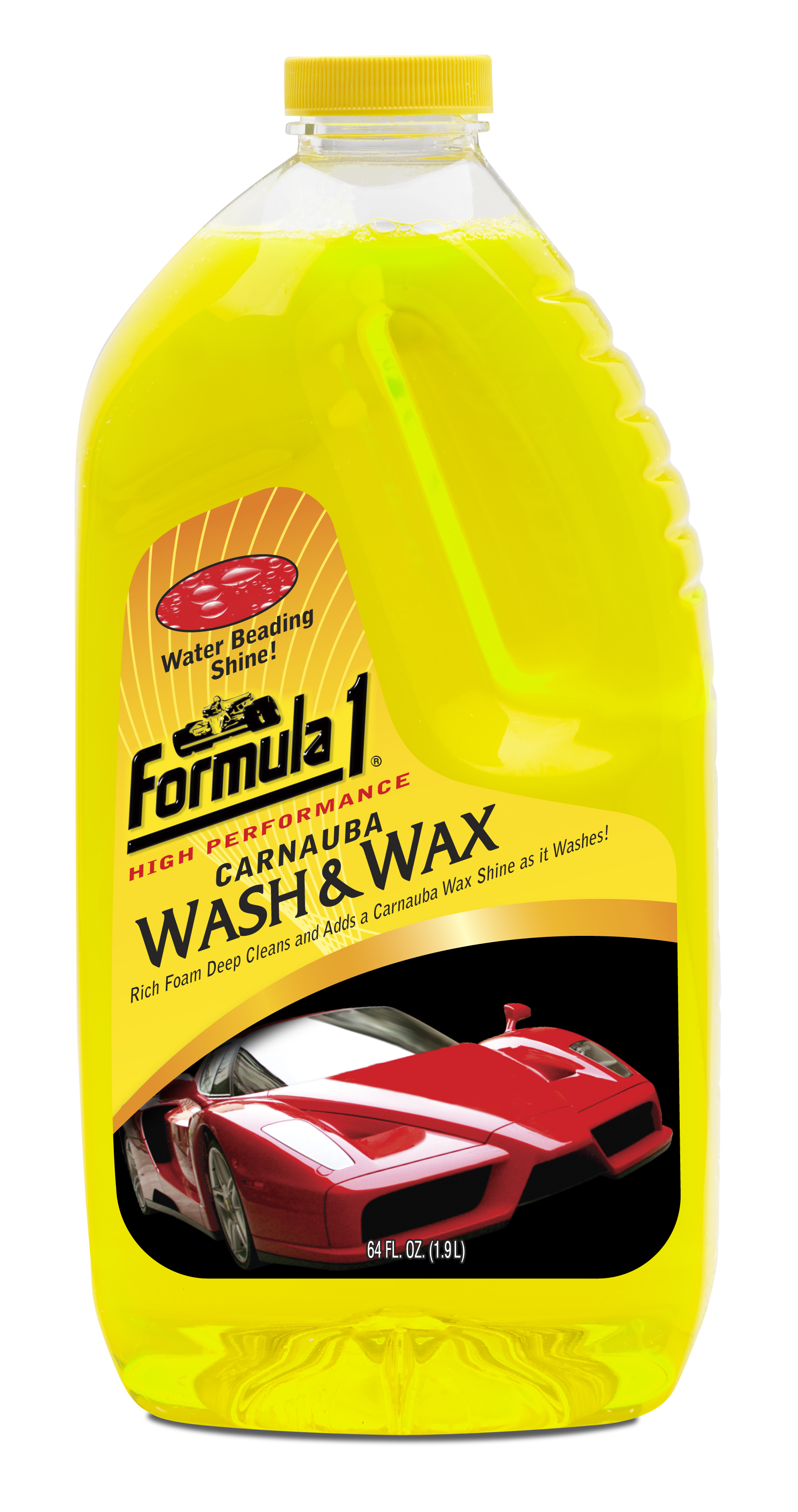 Wash and Wax 64 oz Image