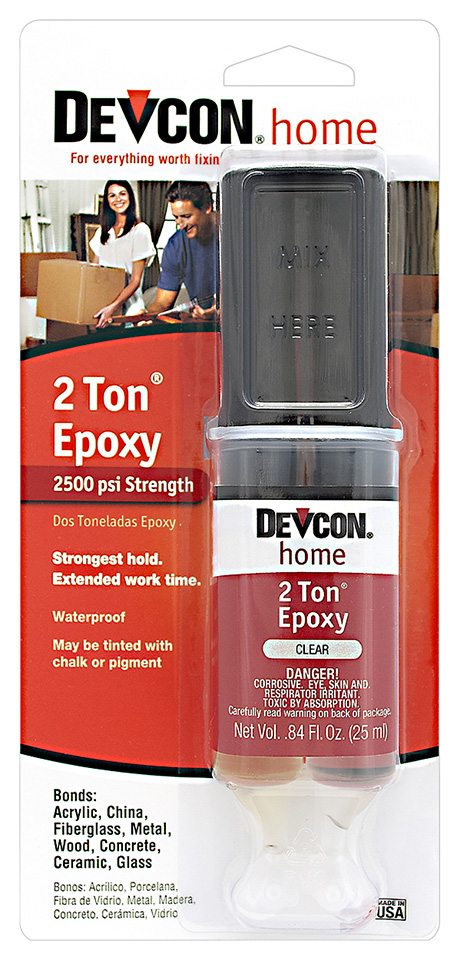 2 Ton Epoxy – 25ml - Syringe Image