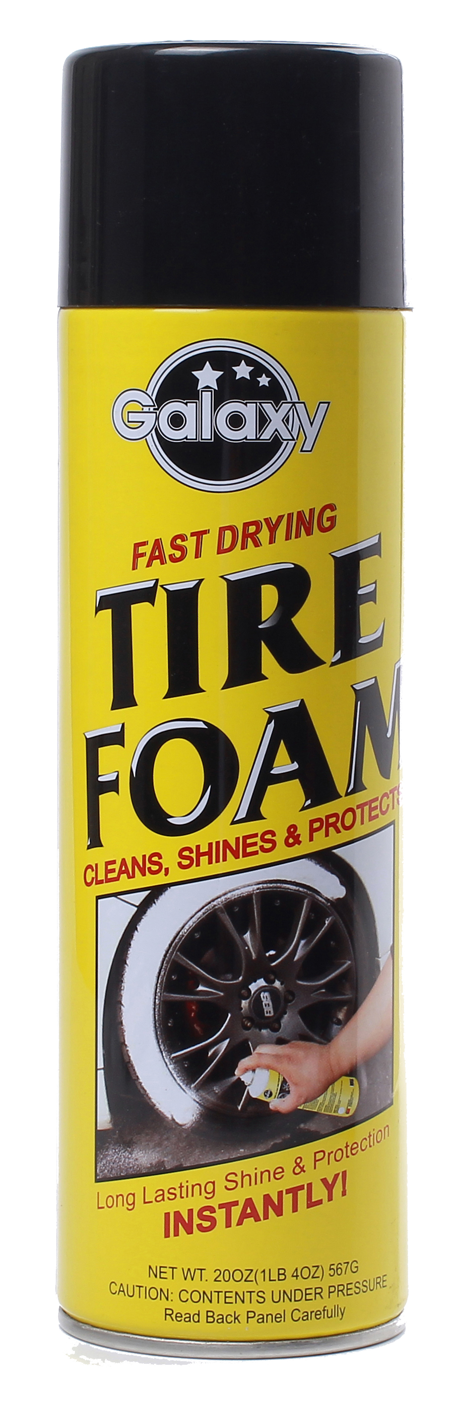 High Gloss Tire Foam Image