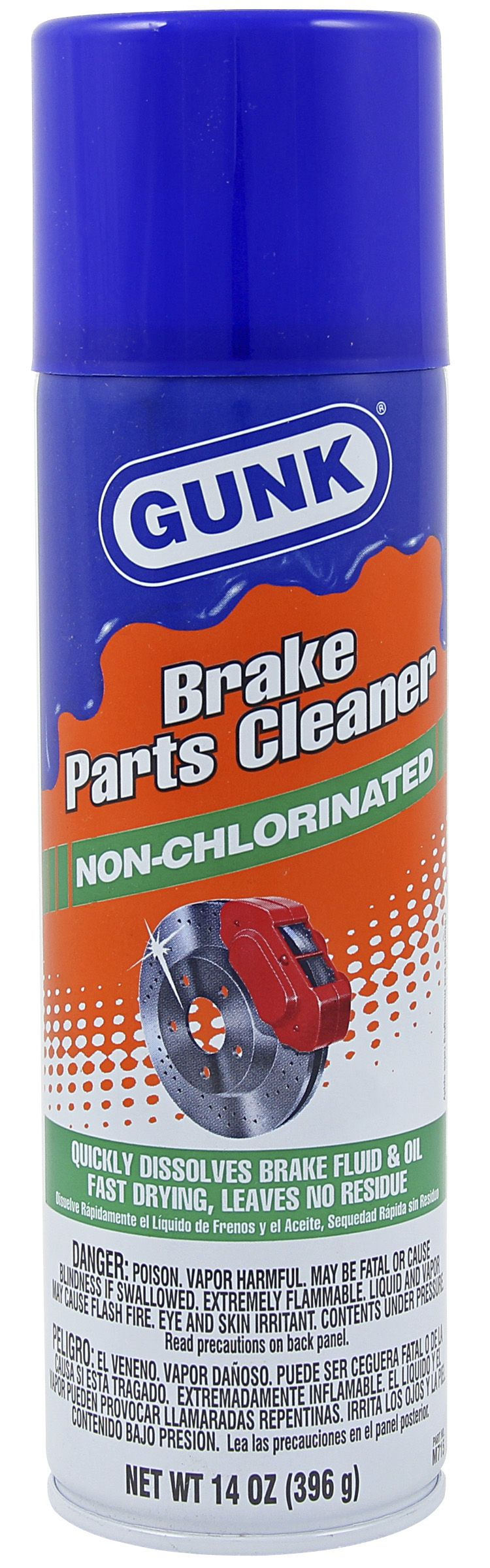 Brake Parts Cleaner Non-Chlorinated Image